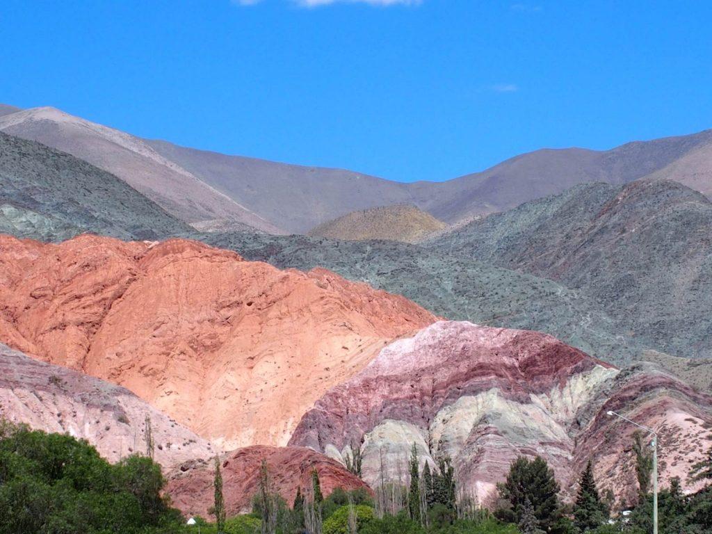 Argentine Purmamarca Montagne aux sept couleurs