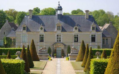 Jardin du Château de Brécy