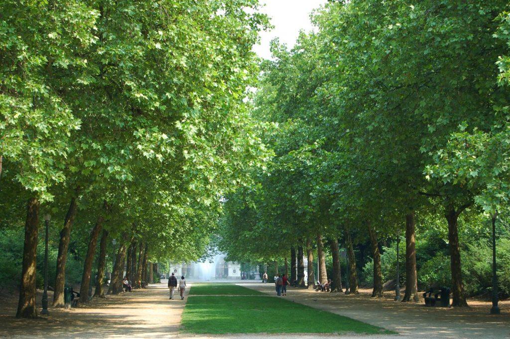 Bruxelles Parc Royal (c) Olivier van de Kerchove