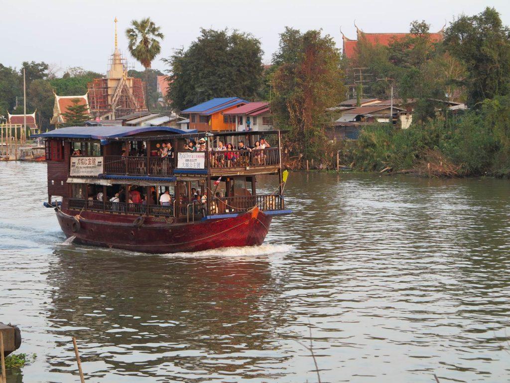 Thailande fleuve Chao Phraya