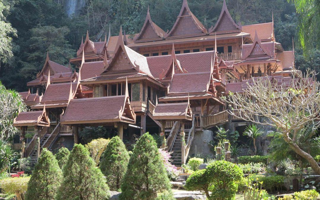 Le coeur de la tha lande la terre est un jardin for Vol interieur thailande