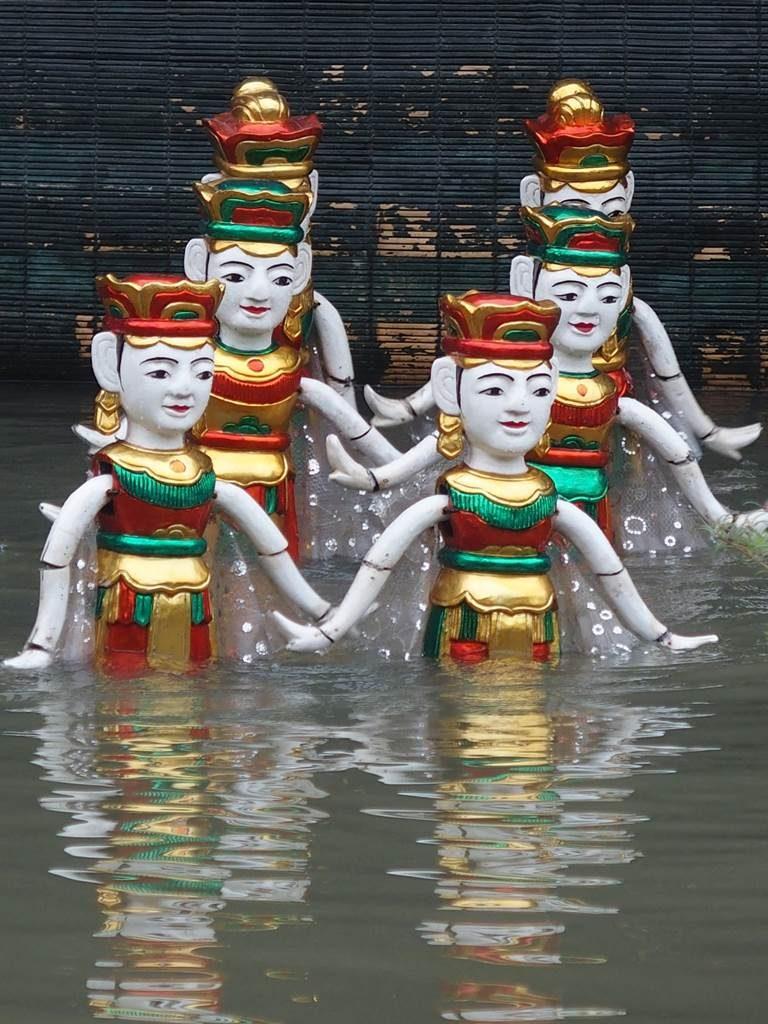 Vietnam marionnettes eau