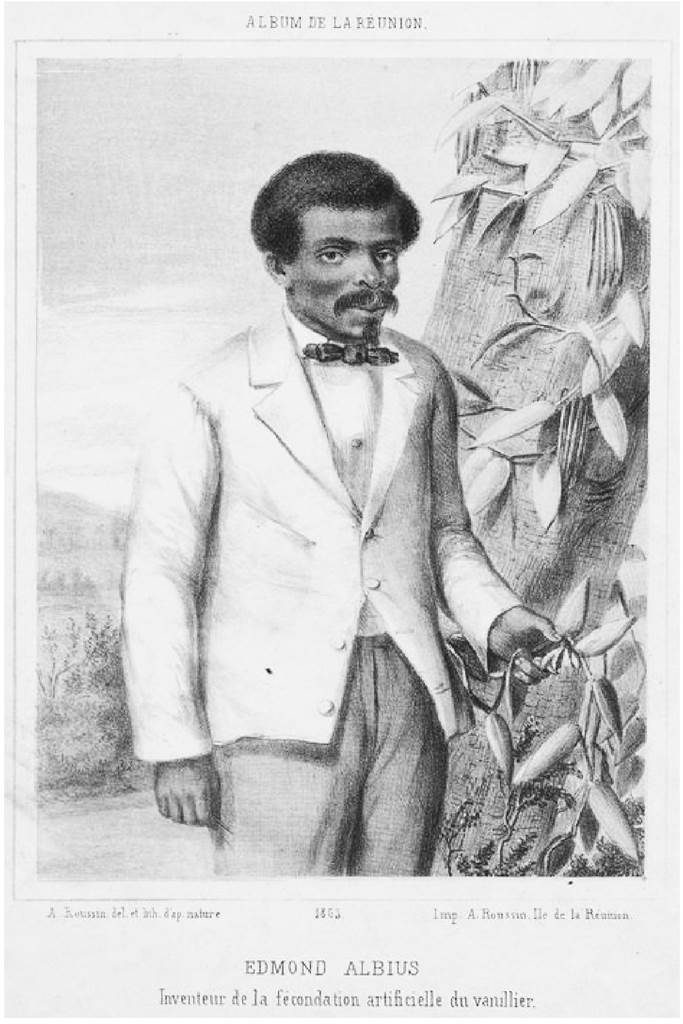 Edmond Albius fécondation de la vanille