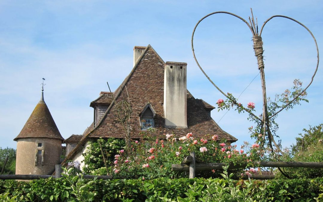 Le jardin médiéval du Prieuré d'Orsan