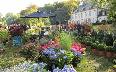 Les Jardins d'Aywiers, au cœur de l'abbaye