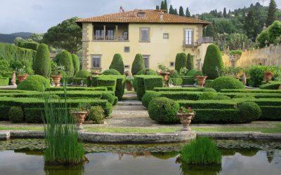 Le jardin de la Villa Gamberaia