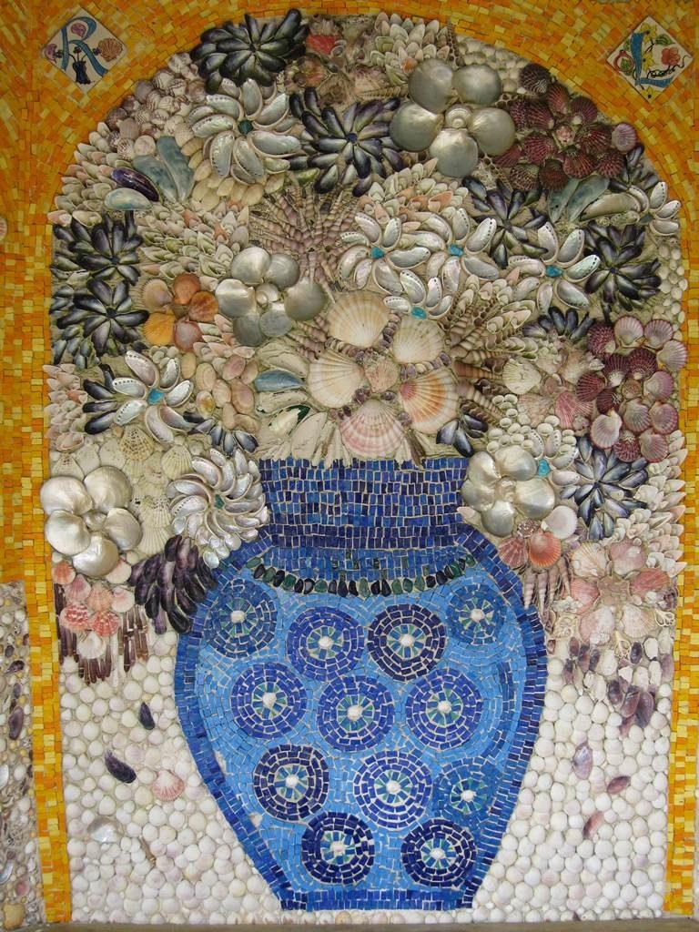 Arte Fait Halte Dans Le Jardin Dden De Tresco Abbey
