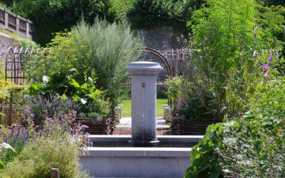 Villers-la-Ville, jardin des plantes médicinales