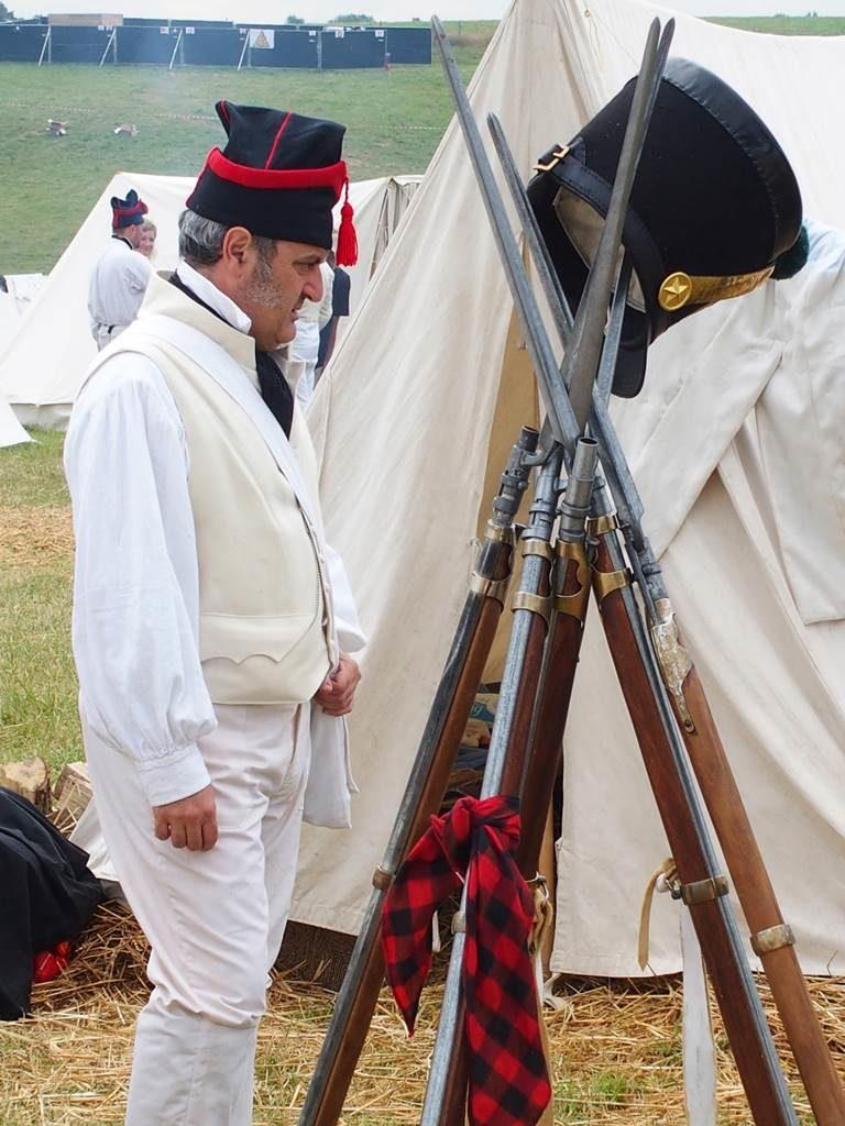 Bataille de Waterloo 1815 Bivouac