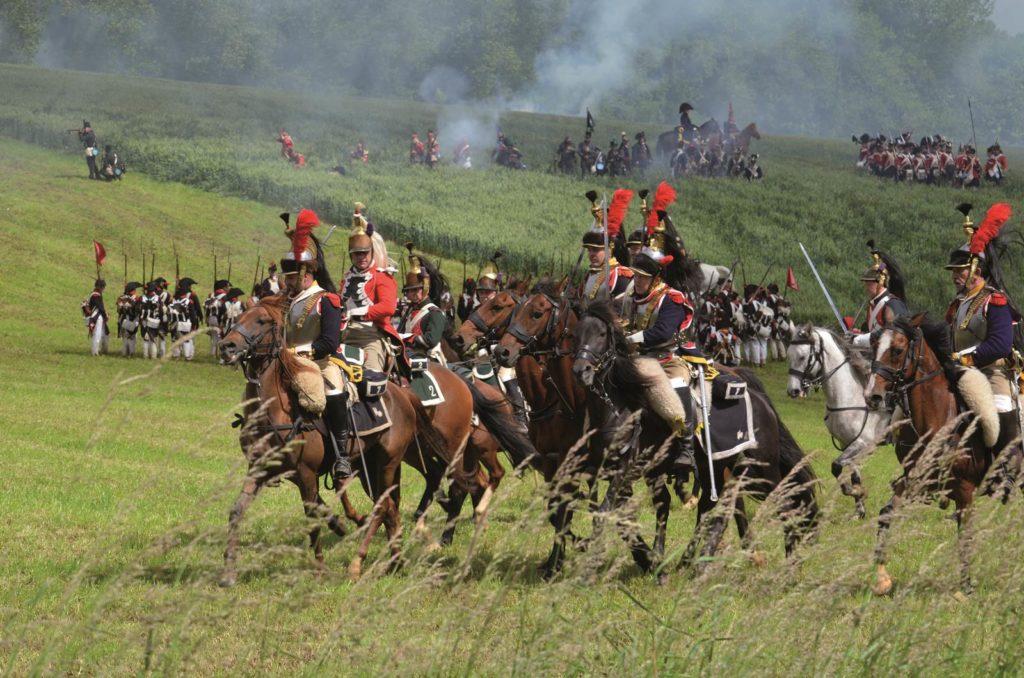 Bataille de Waterloo (c) Ch. Crevecoeur