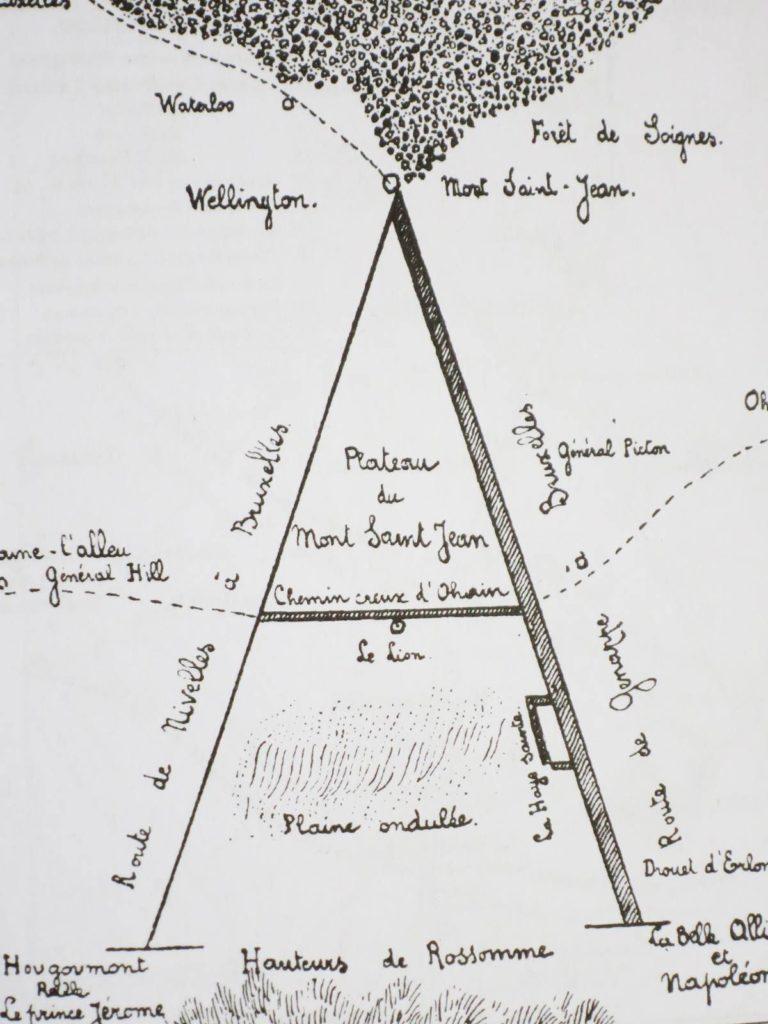 Bataille de Waterloo le A de Victor Hugo