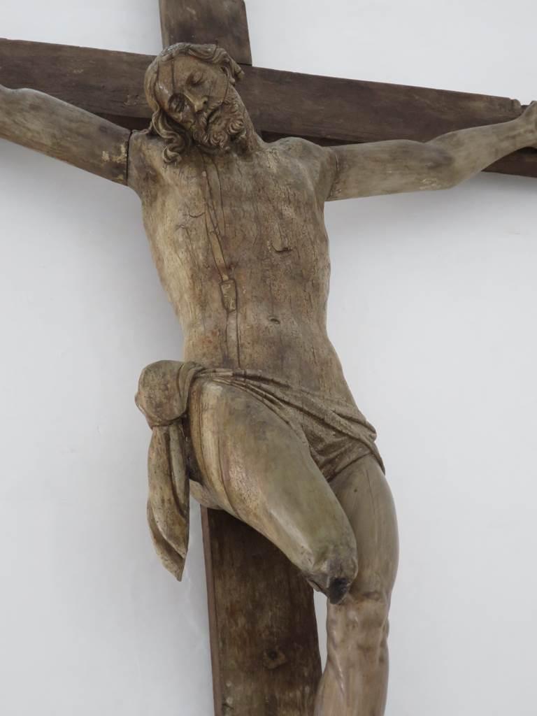 Ferme d'Hougoumont Christ en croix