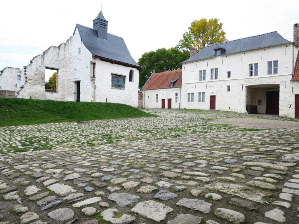 Ferme d'Hougoumont Route Napoleon en Wallonie