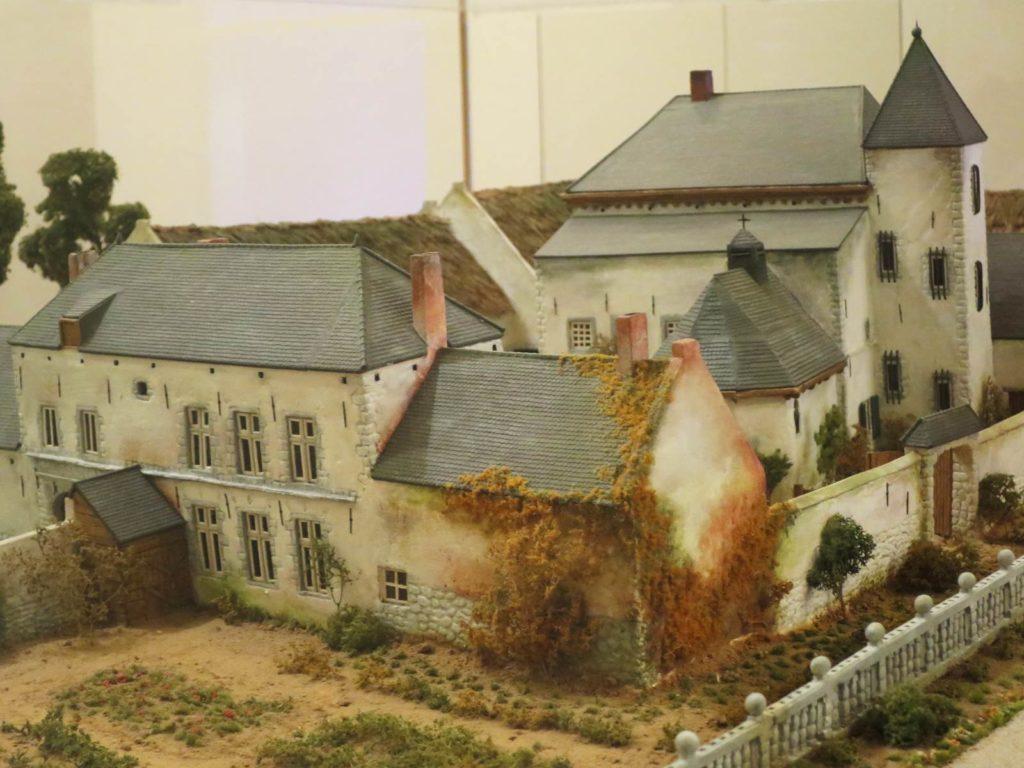 Ferme d'Hougoumont maquette