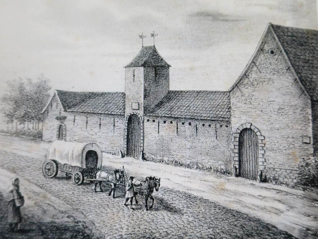 Ferme de Mont-Saint-Jean (c) Musée Wellington Waterloo