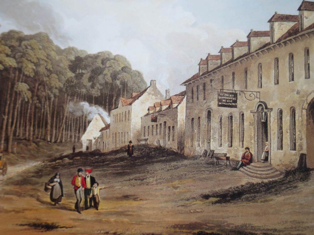 Quartier général de Wellington (c) Musée Wellington