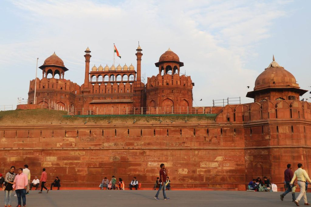 Delhi Fort Rouge