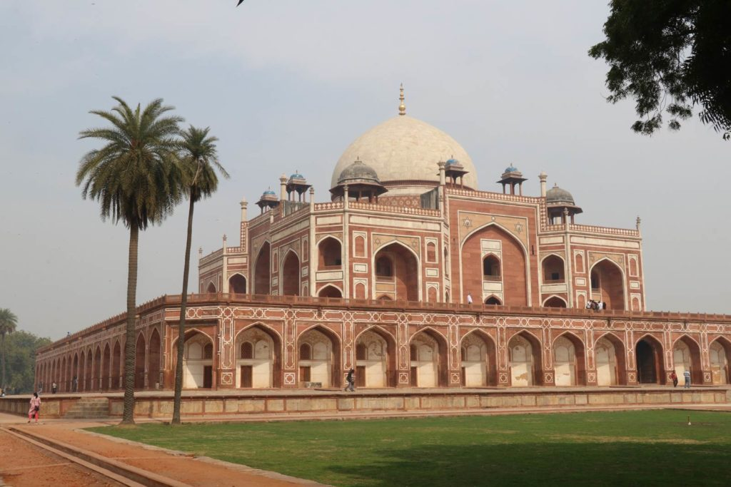 Delhi Mausolée d'Humayun