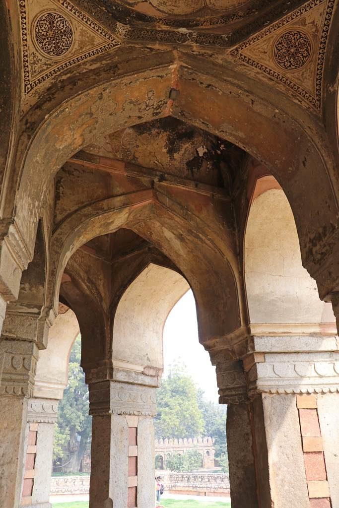 Delhi Mausolée d'Isa Khan