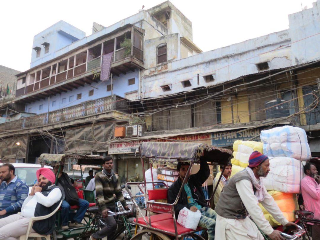 Delhi bazar