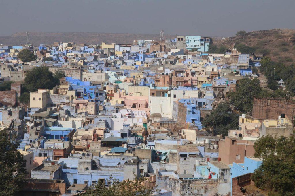 Rajasthan Jodhpur ville bleue
