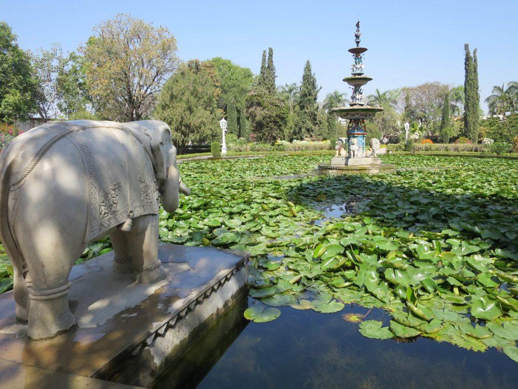 Udaipur Jardin des Demoiselles