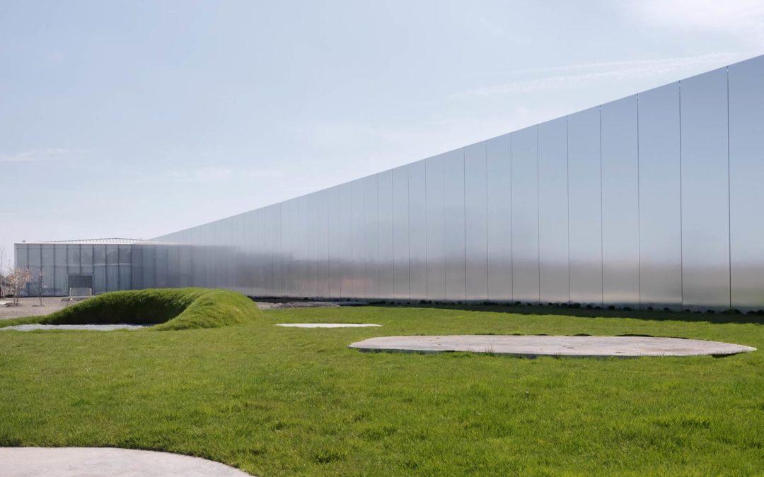 Le parc du Louvre-Lens, comme une épure