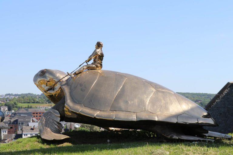 Namur tortue de Jan Fabre
