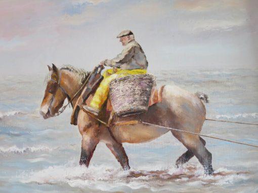 Oostduinkerke Pêcheurs de crevettes à cheval