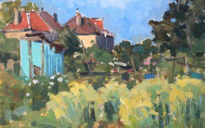 Impressions de jardins par Valérie Pirlot