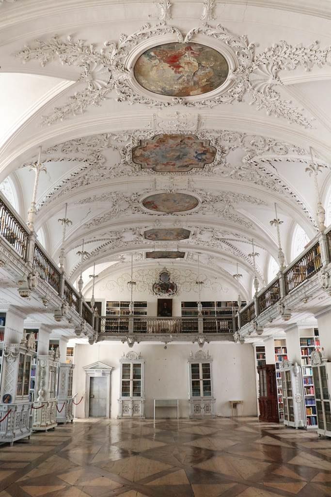 Abbaye de Salem bibliothèque