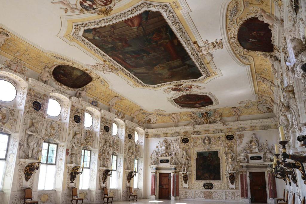 Abbaye de Salem Salle impériale