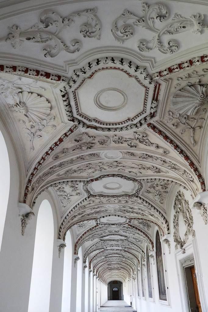 Abbaye de Salem cloître
