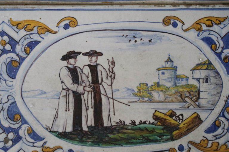 Abbaye de Salem réfectoire