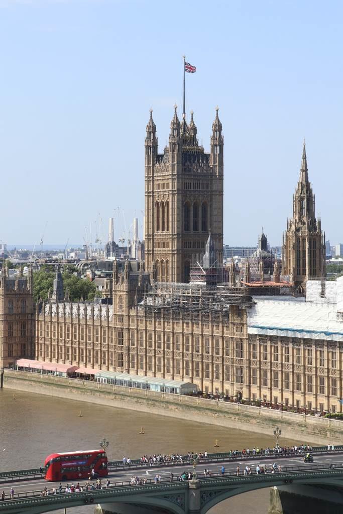 Londres London Eye Parlement