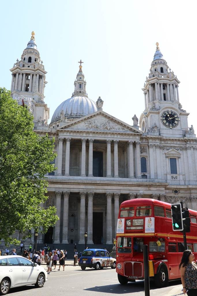 Londres Cathedrale St Paul