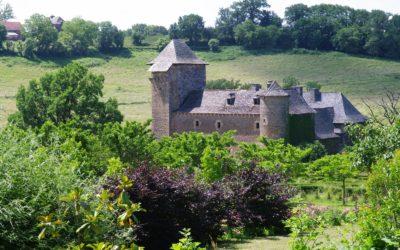 Château du Colombier, jardin médiéval