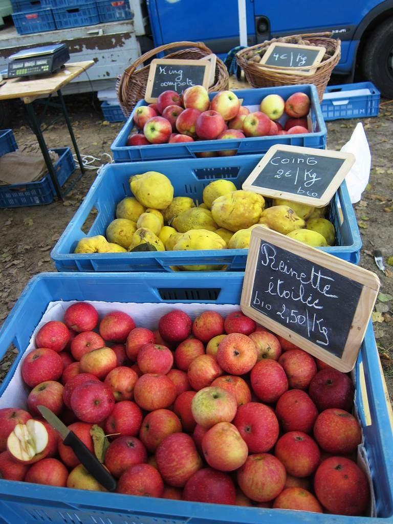 Fête de la pomme à Céroux