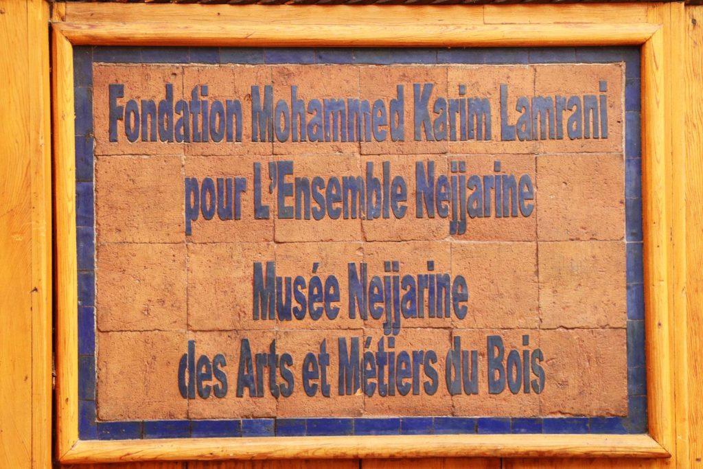 Fes Musée Nejjarine