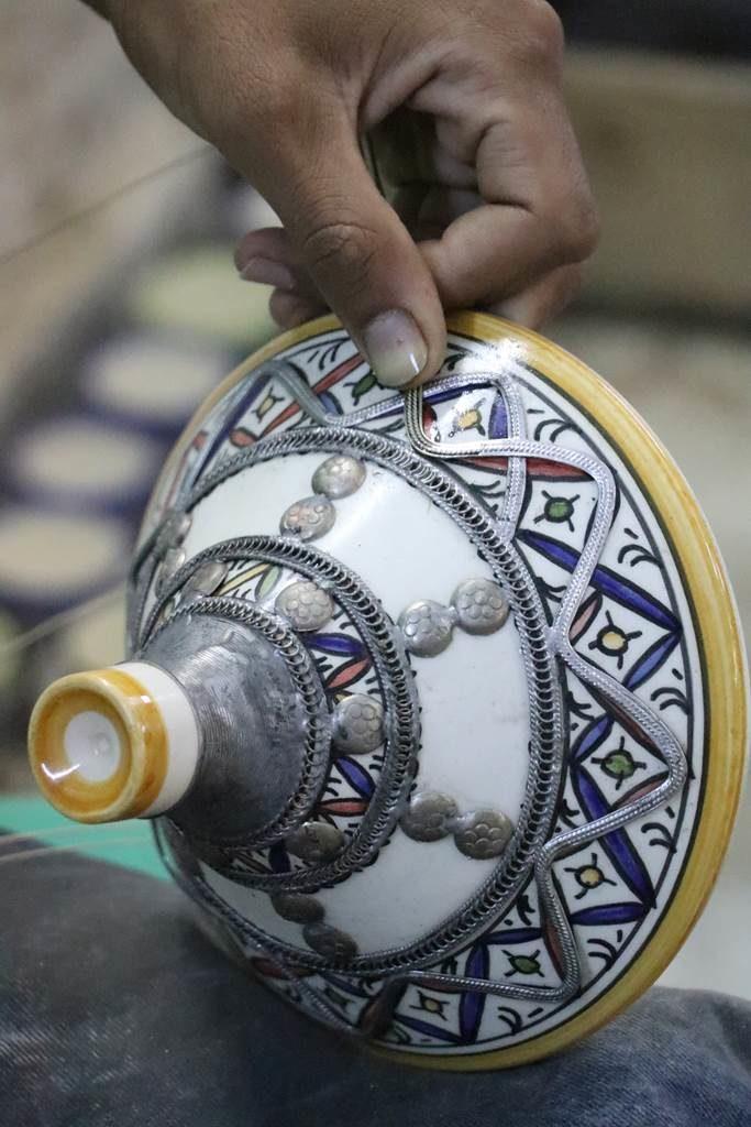 Fes atelier de poterie