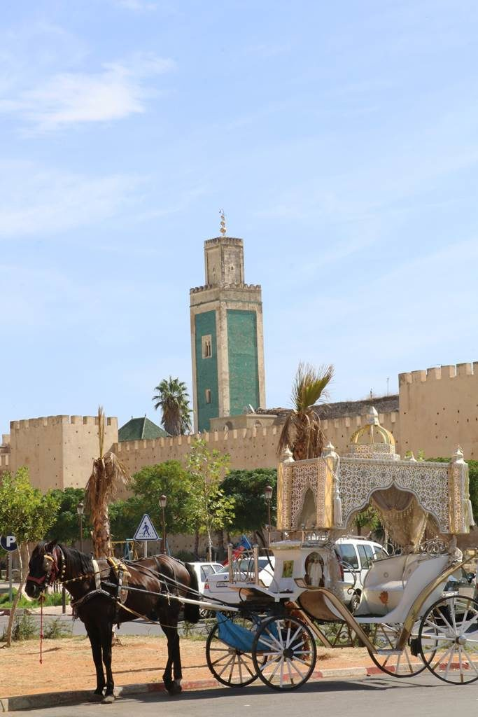 Meknes mosquée et place Aouda