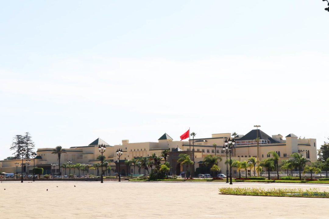 Rabat palais royal