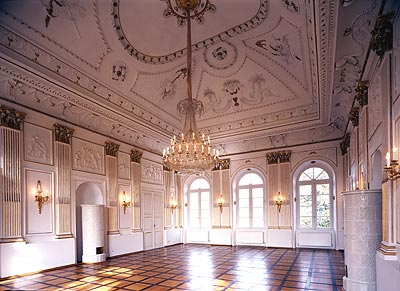 Bayreuth Château de Fantaisie Salle blanche