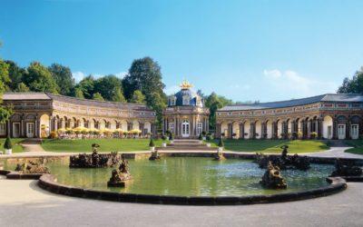 Parc du château de l'Eremitage à Bayreuth
