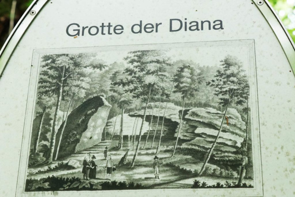 Bayreuth Sanspareil rock garden