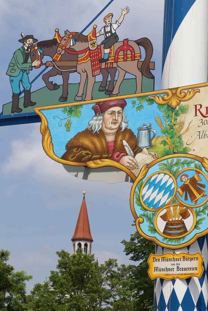 Munich Biergarten