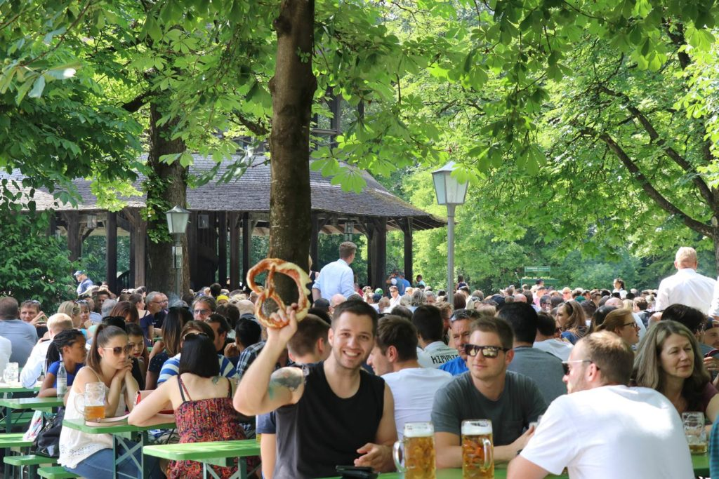 Munich Bierggarten