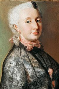 Wilhelmine, Jean Etienne Liotard 1745