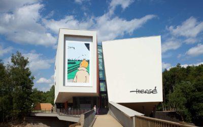 Musée Hergé, voyage au pays de la ligne claire