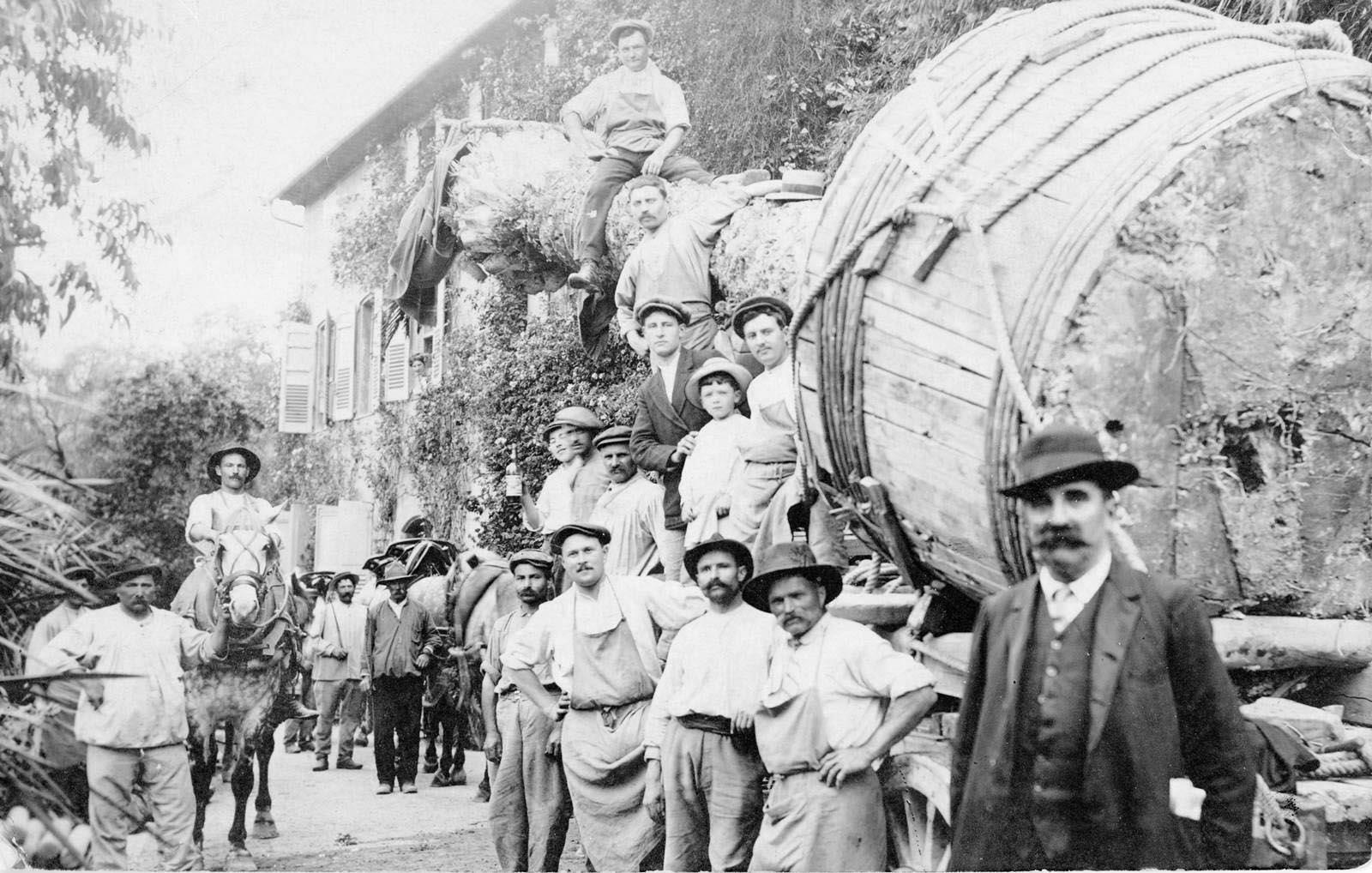 1912 de Nice à Grasse